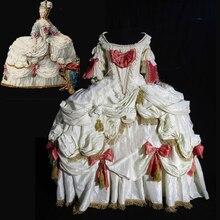 Индивидуальные! Королевский 18 век французская герцогиня Ретро Средневековый Ренессанс реконструкционный театр гражданская война Викторианский платье HL-310