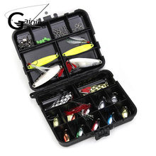 36pcs/set Metal Spoon Fishing Lure Kit Spinner Bait Tackle Fishing Lure Set for Trout Bass Salmon Freshwater Saltwater with Hook(China)