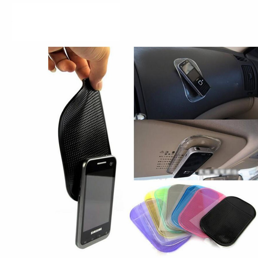 Magic Sticky Pad Car Anti Slip Mat Mobile Phone Holder Car Dashboard Silica Gel Sticky Pad