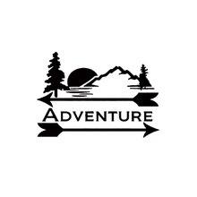 ADVENTURE DECALs Sticker Nature Wilderness Car Truck Bumper Window Laptop