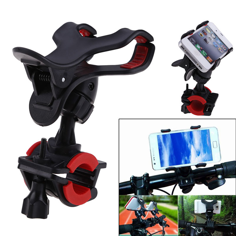 Bike Bicycle Phone Holder Bike Adjustable Rotatable Road MTB Mountain Holder Phone Cellphone PDA GPS Bicycle Accessories JY
