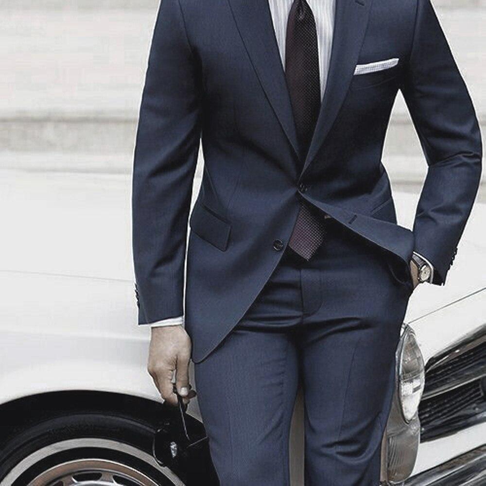 c01d75e2ad Nuevo traje de hombre de moda traje de novio color puro vestido de novia  cuello blanco