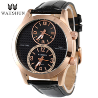 2017 Hot Selling Fashion Dual Display Wristwatches SMAEL Brand Rose Gold Color Alloy Sport Watch Time