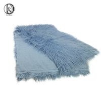 Don&Judy 100 x 75 cm Faux Fur Blanket for Baby Photography Props Basket Cushion Filler Baby Photography Shoot Blanket Photo Prop