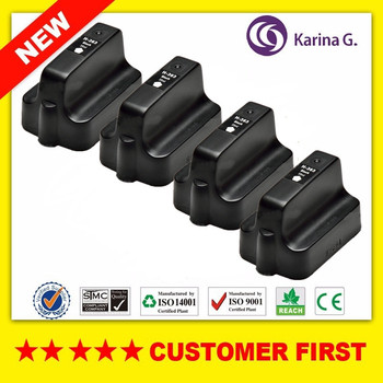 Cartucho de tinta negro compatible 4PK para hp 363 hp 363 adecuado para hp PhotoSmart C6270 C6275 C6280 C6283 C6240 C6250