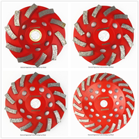 1 Pc Diamond Segmented Turbo Grinding Cup Wheel For Concrete And Other Construction Material 4 4
