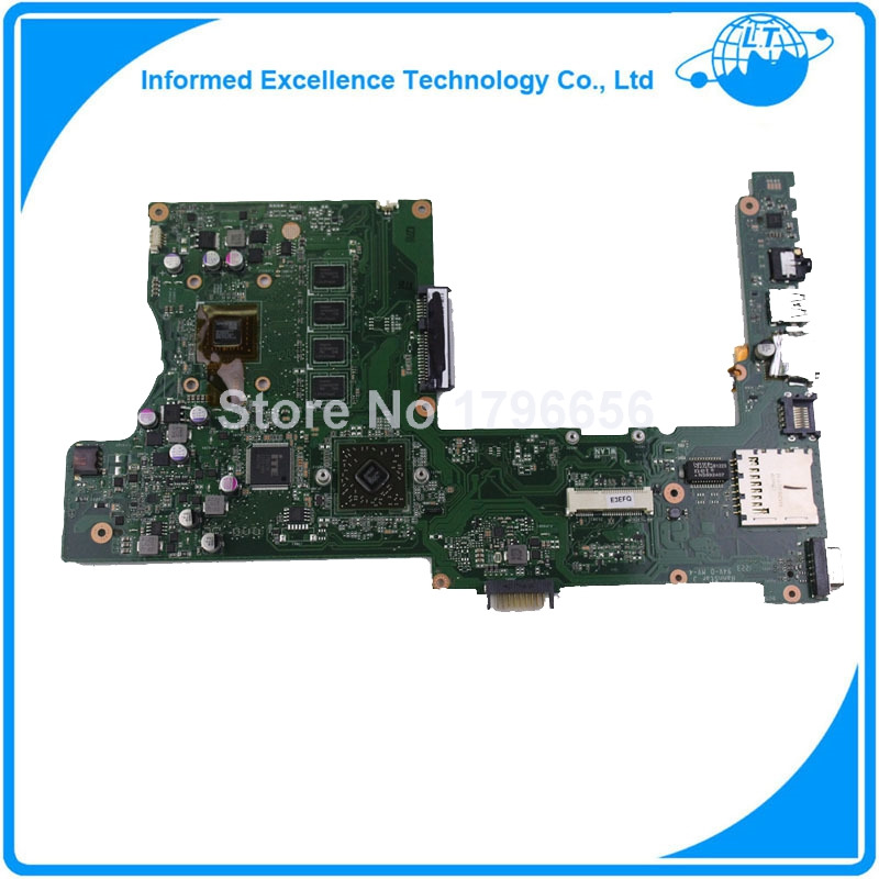 motherboard For Asus X401U X501U with E450 cpu 4GB RAM Fully Tested before shipping Work perfect g41 motherboard fully integrated core 775 cpu ddr3 ram belt 4 vxd ide usb 100% tested perfect quality