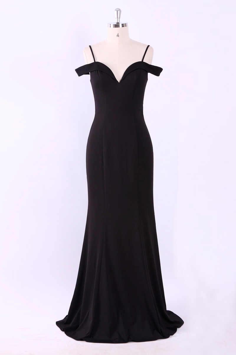 Женское платье с треугольным вырезом, Осеннее/зимнее, длинное, без рукавов, EP07017