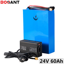 customized Large capacity 60Ah 24V 1000W electric bike LiFePo4 battery 32700 cell 8S 24V ebike LiFePo4 battery with 5A Charger(China)
