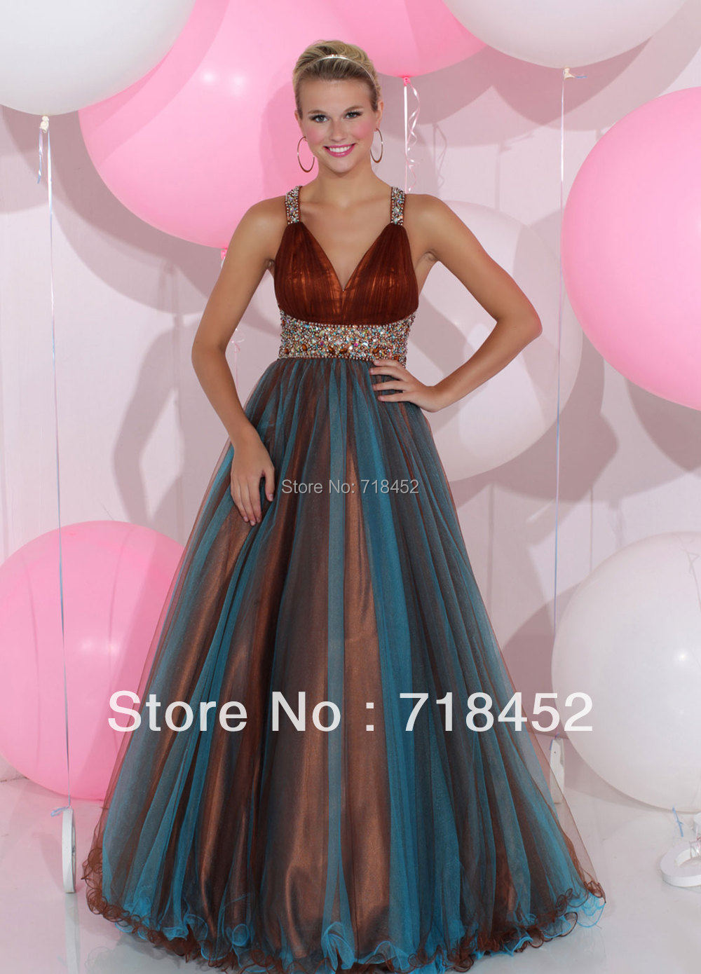 Popular Multi Colored Prom Dresses 2013-Buy Cheap Multi Colored ...