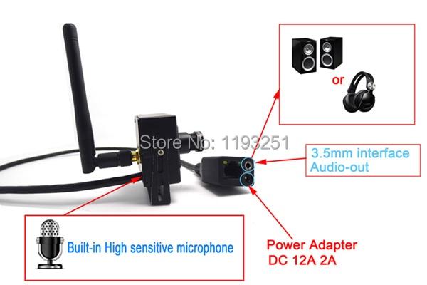 CCTV mini ip kamera wifi megfigyelő rendszer vezeték nélküli - Biztonság és védelem - Fénykép 5