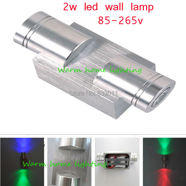 Led Wall Lights Price In Pakistan: Factory Price! Modern 2W Led Wall Light AC85 265V For