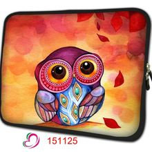 Cute Owl Notebook Bag Smart Cover Tablet Bag Laptop Sleeve For 7