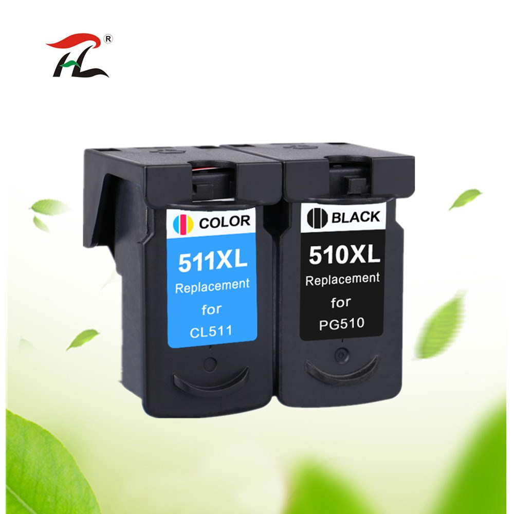 Compatible PG510 CL511 Ink Cartridge for Canon PG 510 CL 511 for MP280 MP480 MP490 MP240 MP250 MP260 MP270 IP2700 printer