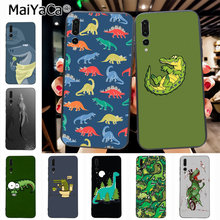 Maiyaca Crocodile On The Toilet Animal Dinosaurs Special Luxury phone case for Huawei P20 P20 pro Mate10 P10 Plus Honor9 case(China)