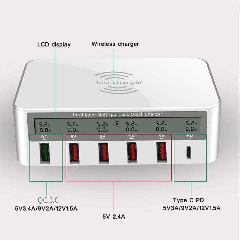 Image 4 - Universal 100W 5x USB QC 3.0