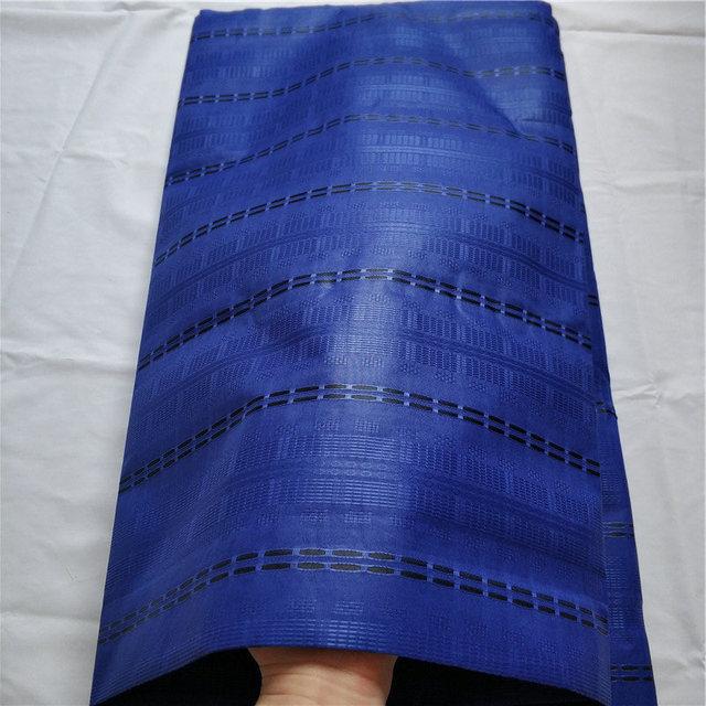 Africano, Nigeriano di Atiku del merletto per il panno uomo atiku tessuto 100% cotone 5 yards per pezzo