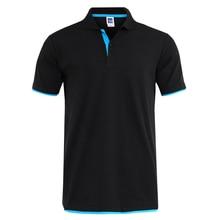 Mens Polo Shirt Brands Clothing Short Sleeve Summer Shirt Man Cotton Poloshirt Men Plus Size Polo Shirts Sportswear Jersey 3XL origina nike men s short sleeve polo sportswear