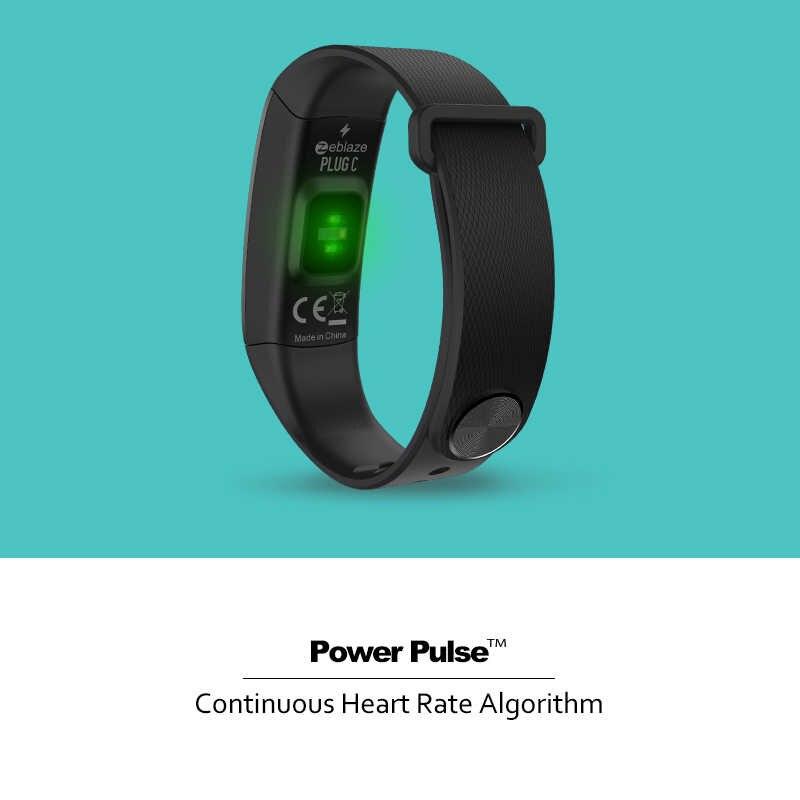 Zeblaze التوصيل C المستمر القلب معدل الذكية معصمه دائما على اللون عرض طويل عمر البطارية و سريعة شحن IP67 معصمه