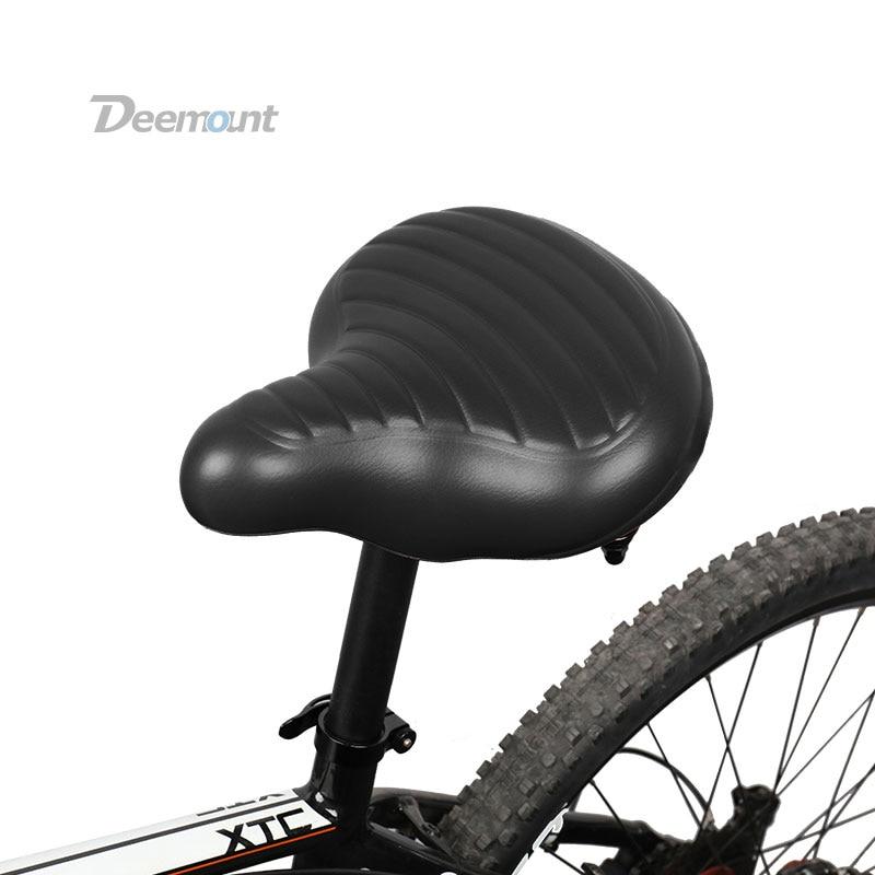 Deemount Bicicletta Sella Excel in Stato di Shock Riduzione Robusto Costruito In Più di Spessore Extra larga DELL'UNITÀ di ELABORAZIONE di Schiuma di Silicone Sedile Comfy Uso Durevole