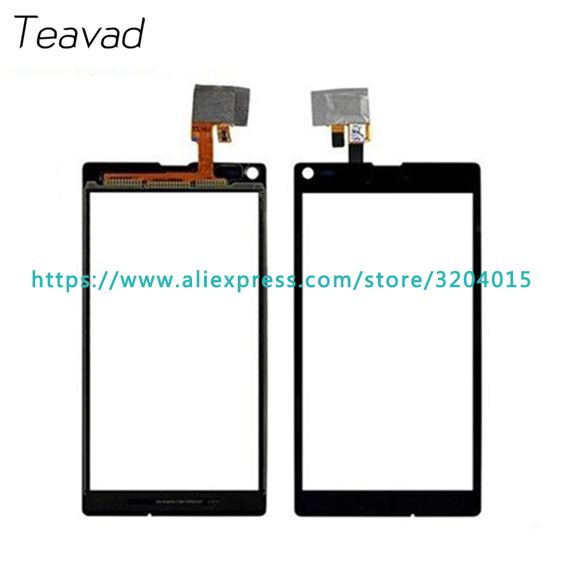 Free shipping 10Pcs/lot High Quality For Sony Xperia L S36 S36h C2105 C2104 Touch Screen Digitizer Sensor Outer Glass Lens Panel