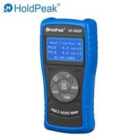 HoldPeak HP 5800F цифровой HCHO PM2.5/10 детектор Крытый открытый качество воздуха тестер газоанализатор мониторинга окружающей среды тестер