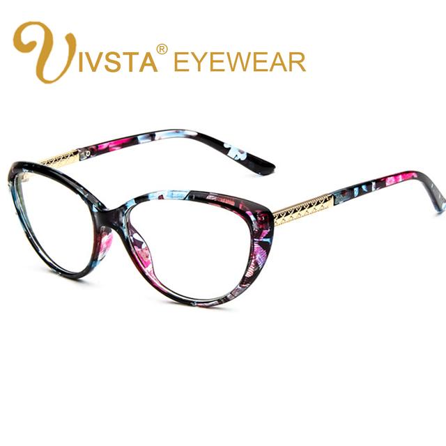 IVSTA CHN3L Style Women Retro Cat Eye Eyeglasses Brand Spectacles Glasses Optical Frame Vintage Computer Reading Myopia Designer