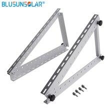 Adjustable Solar Panel Mount Mounting Brackets For 250W Solar Panel Folding Tilt Legs Boat RV Roof 41 Inch Solar