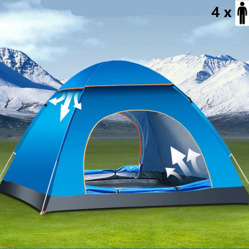 Pop Up Beach Shelters : Person portable waterproof instant pop up tent camping