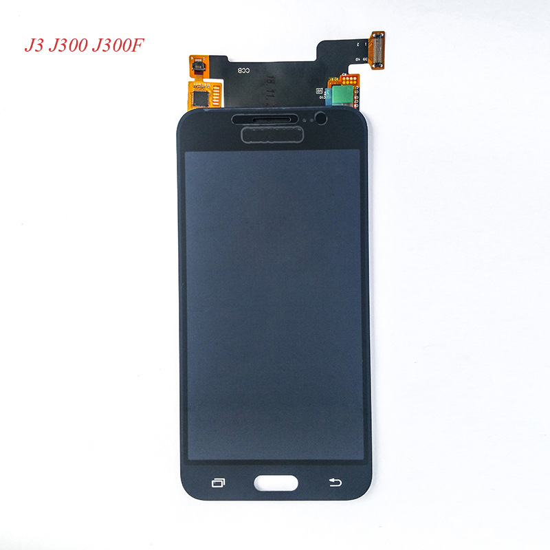 AAA Brightness Adjustable For Samsung Galaxy J3 J5 <font><b>LCD</b></font> Screen and Digitizer Assembly J3 2015 J300F / J5 2015 <font><b>J500F</b></font> <font><b>LCD</b></font> image
