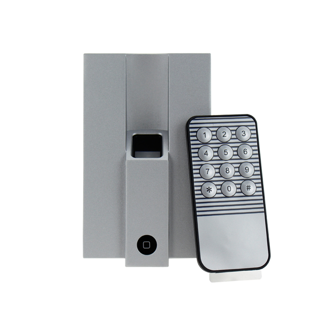 Silver Metal Waterproof fingerprint scanner access control lock with remote control support 1000 users for door  sc 1 st  AliExpress.com & Silver Metal Waterproof fingerprint scanner access control lock ...