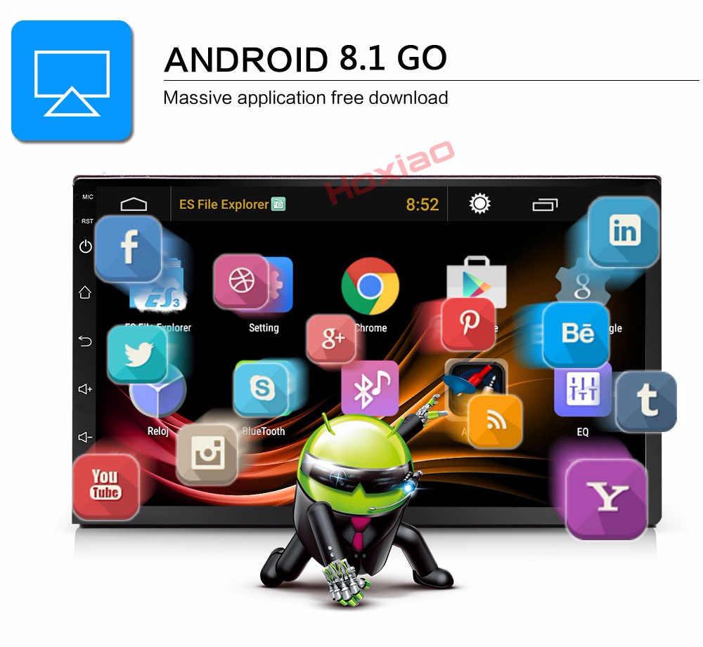 Android 8,1 2 Din Автомобильный Радио Мультимедийный видео плеер Универсальный Авто Стерео gps карта для Volkswagen Nissan hyundai Kia Toyota CR-V