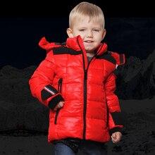 Харви и бо дети зимой на открытом воздухе верхняя одежда пальто водонепроницаемый мальчик с капюшоном лыжный костюм дети толстые куртки