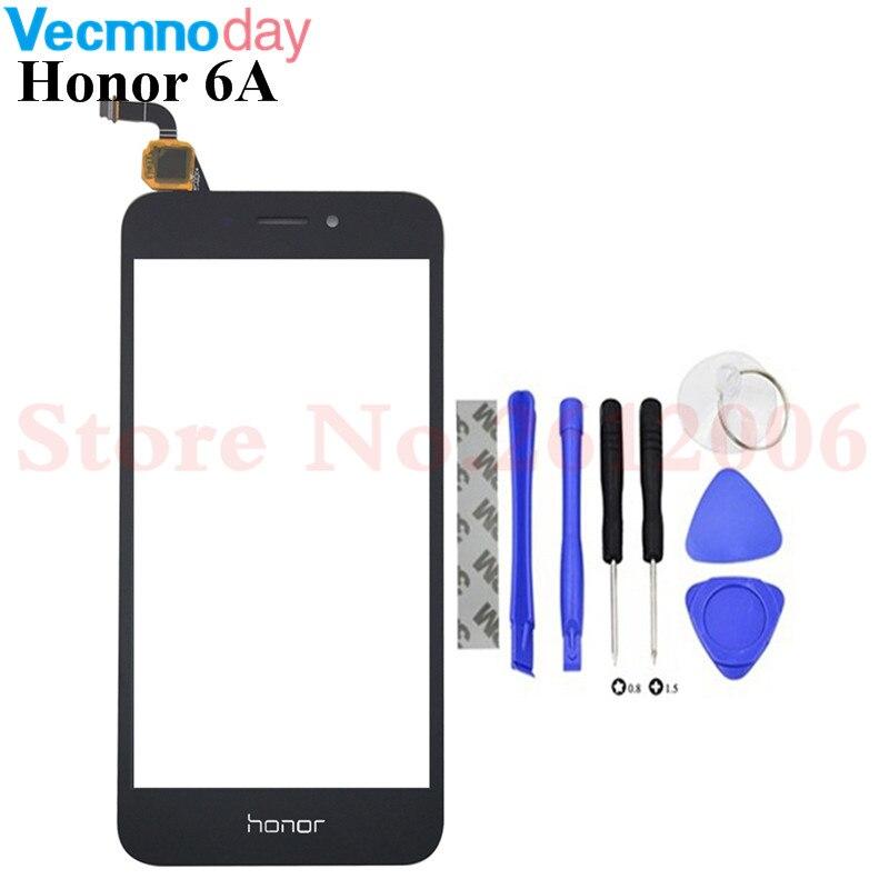 Hohe Qualität Touchscreen Für Huawei Honor 6A Touchscreen Digitizer Sensor Panel Front Glas Objektiv Mit Logo