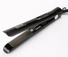 Big discount UK Plug flat iron De Nano Titanium  Hair Straightener product professinal  hair flat iron Free shipping