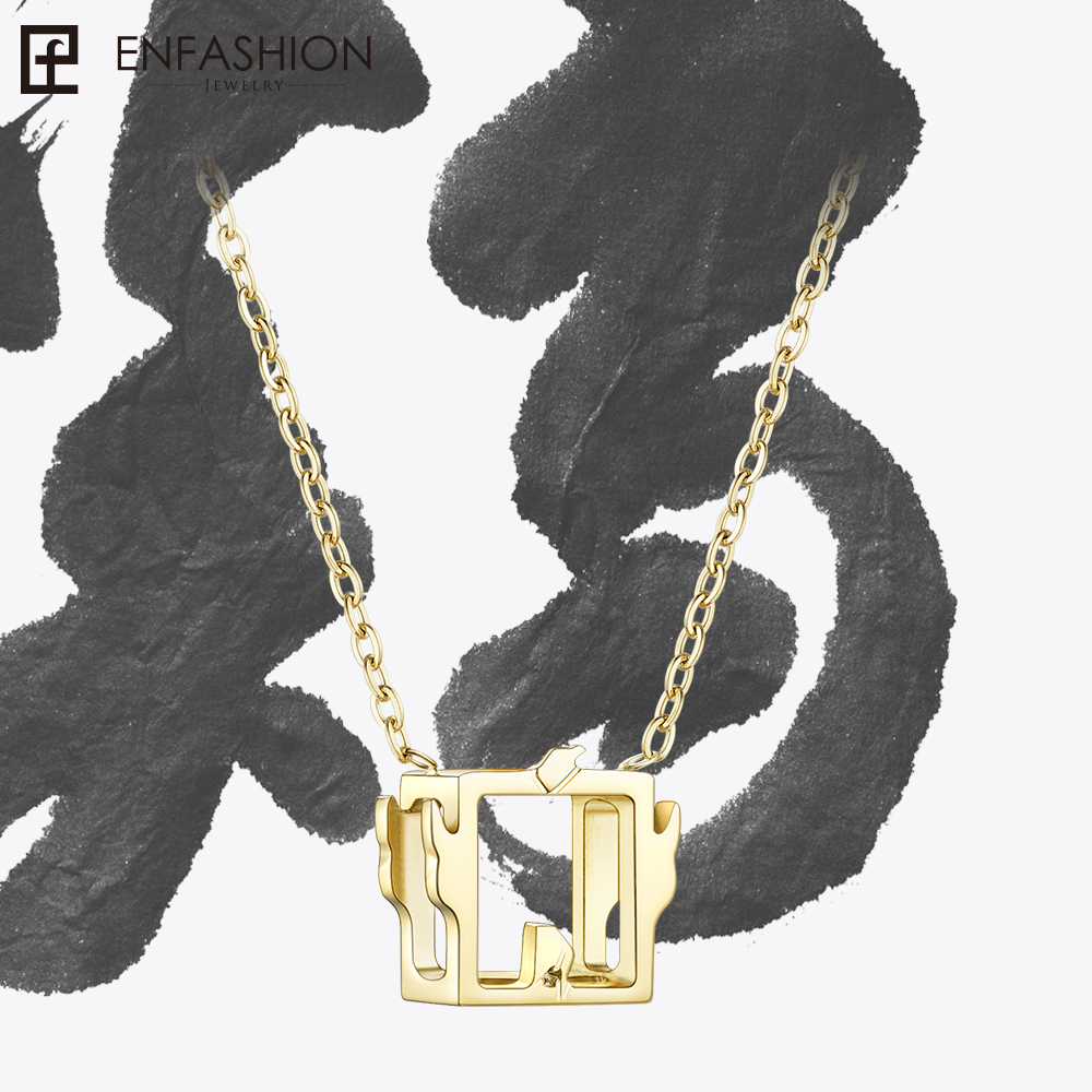 Enfashion Chinese Zodiac Rooster Necklace Chicken Pendant Gifts For Womens Necklaces Jewelry Collares mujer PFY183004-ROOSTER chinese zodiac signs chinese new year gifts chinese zodiac symbols chinese paper cuts dragon
