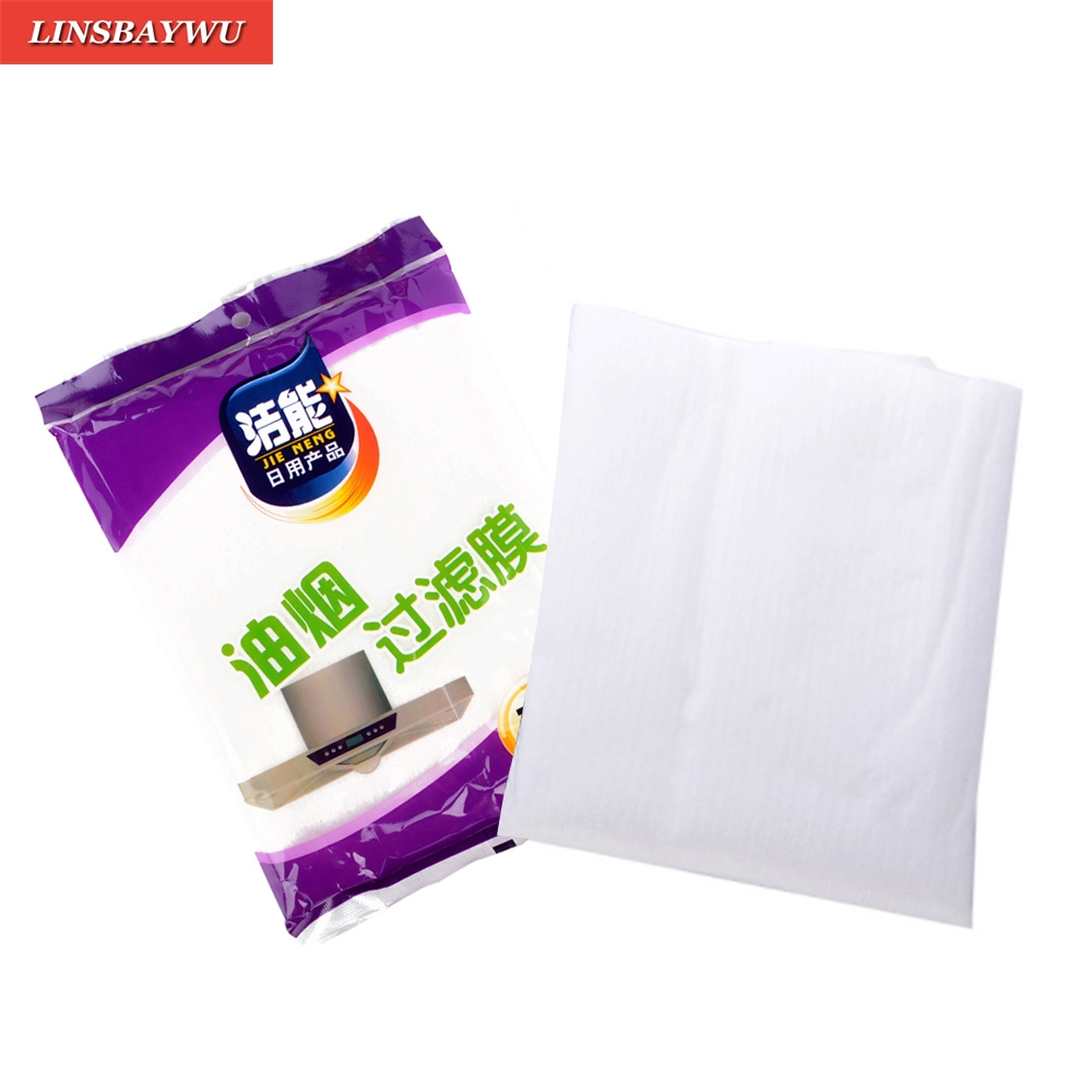 12x Universal Cooker Hood Extractor Fan Grease Paper Carbon Filter Grade Grease Paper Food Wrappers Paper Kitchen Tools