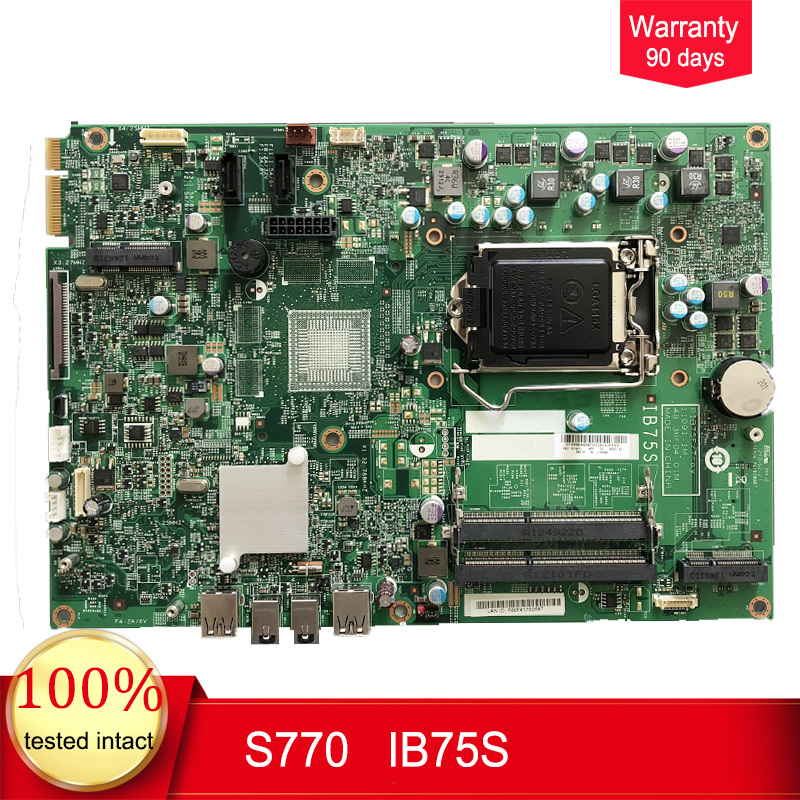 48.3HF05.01M  For Lenovo Edga 92Z Motherboard MainBoard PIB75F 48.3HF04.01M  11091-1M FRU:03T6613100% Tested Intact