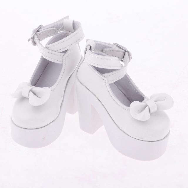 Trendy Bowknot High Heel Shoes for 1/3 BJD Dollfie Doll Sandals Kids GiftsDolls & Stuffed Toys