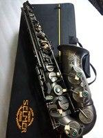 Alto France SELMER 802 E Flat Saxophone Musical Instruments Alto Saxophone Matt Black Professional Real Picture