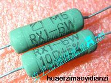20PCS RX1-6W RX1 RX21-6W RX21 6W 10RJ 10ohm 5% wire wound resistor green new