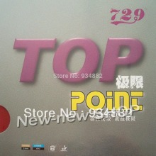 729 Top Point (NON-TACKY) Pips-In Table Tennis (PingPong) Rubber with Sponge