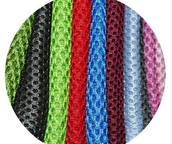 1metres 20 colors sandwich mesh fabric elastic mesh cloth