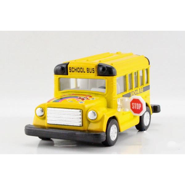 Children Kids Kinsmart Cute School Bus Model Car KT4004 4inch Diecast Metal Alloy Cars Toy Pull Back Gift