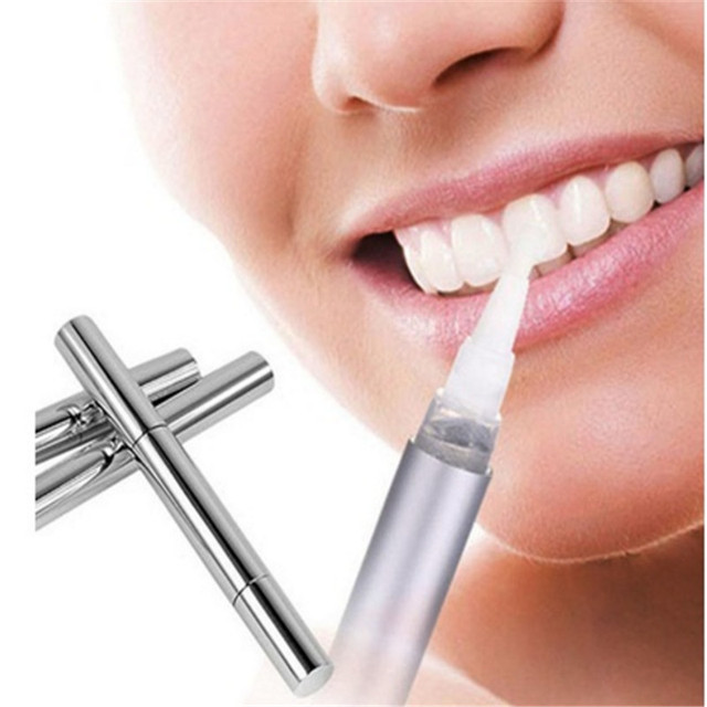 Teeth Whitening Pen No Sensitivity Tooth Gel Whitener Bleaching System Stain Remove for Smoker, Coffee Drinker and Wine Lover