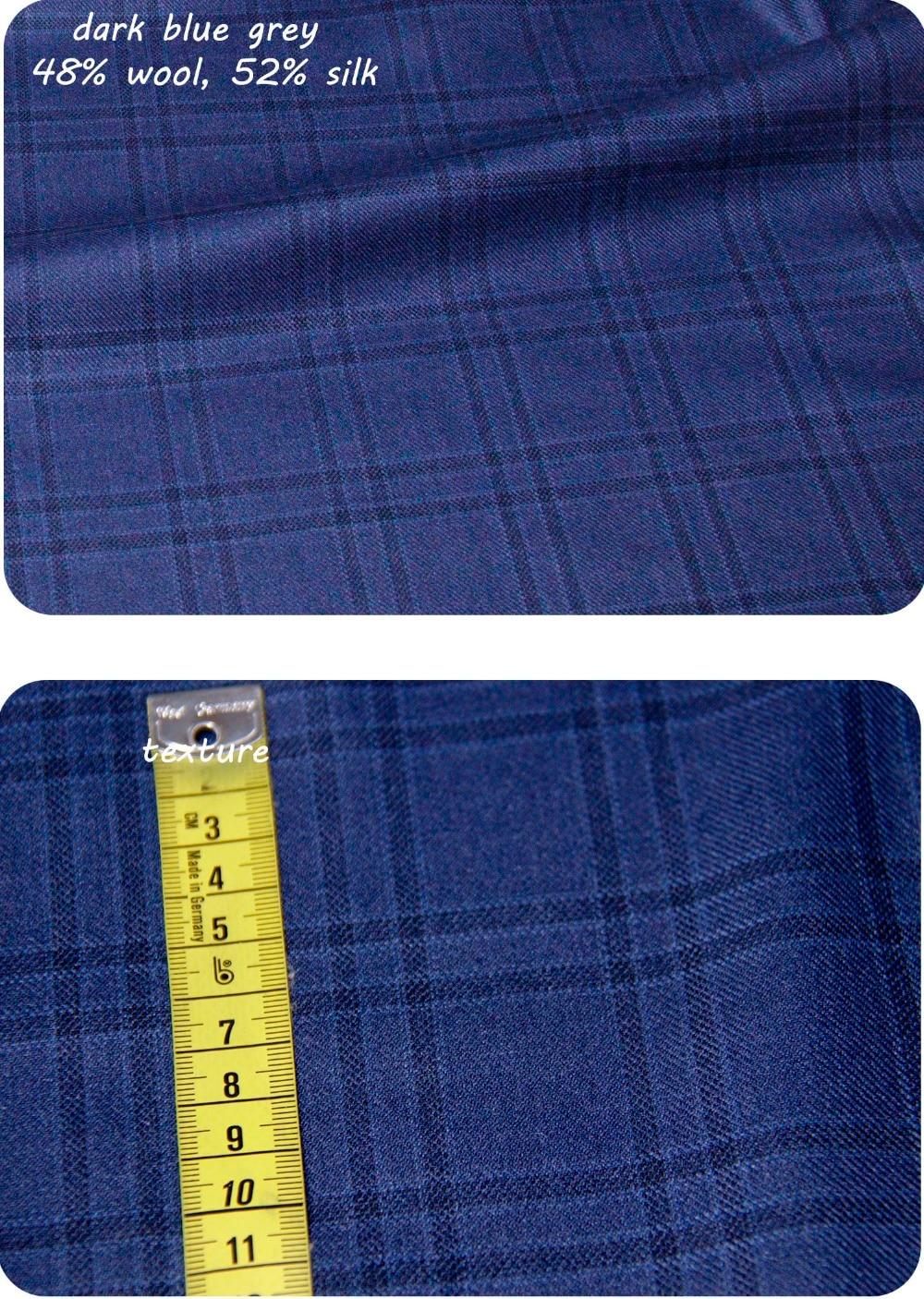 100% Virgin Wool Men Suit Custom Made Suit Luxury Wool Silk Business Suits For Men, Besopke Suit In Wool Costume Homme De Luxe