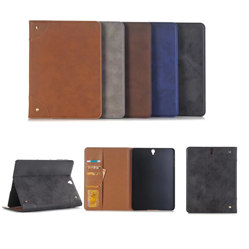 Retro Business Scrub Leather Cover Case for Samsung Galaxy Tab S3 9.7 T820 T825 Tablet PU Leather Case for Samsung T820 T825 pu leather case cover for samsung galaxy tab 3 10 1 p5200 p5210 p5220 tablet