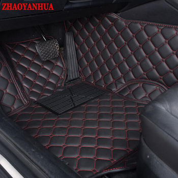 ZHAOYANHUA Car floor mats for Nissan Bluebird Sunny Sentra Murano Rouge X-trail Altima Versa 6D car-styling carpet liners