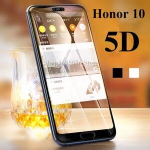 Защитное стекло 5D для honor 10 play, 2 шт., для huawei Y7 prime 2018 y9 9i y6 pro, закаленное стекло, полноэкранная защита huawei y 6 7 9
