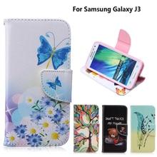 Case for coque Samsung Galaxy J3 2016 J320 J320F SM-J320 fundas Cover J300 +Stand Card Holder